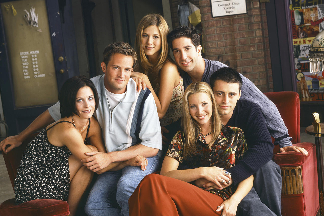 TV Shows to improve your English - friends