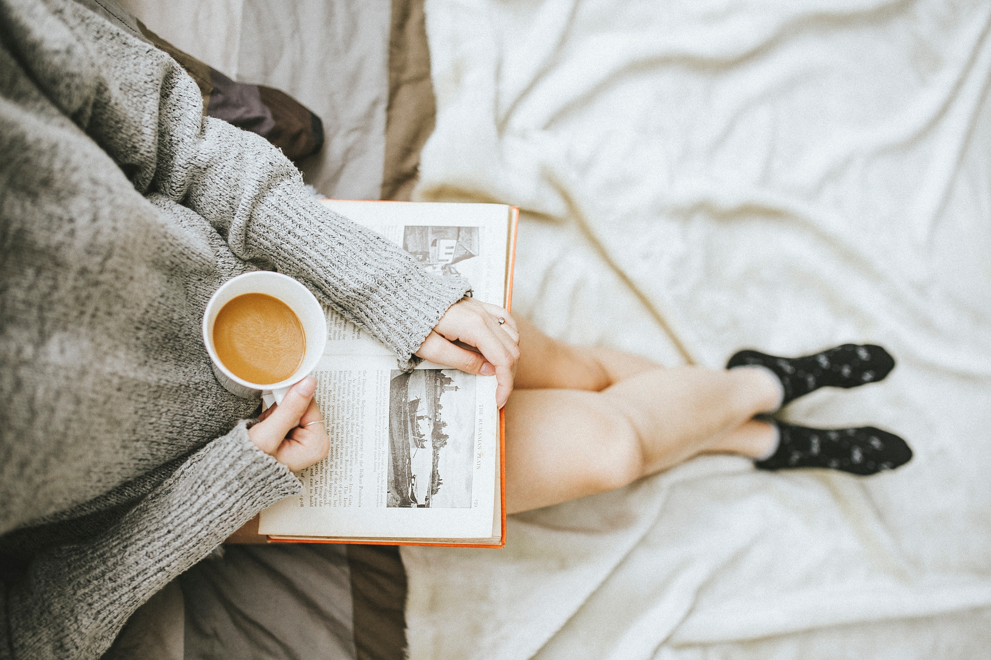 morning routines - read