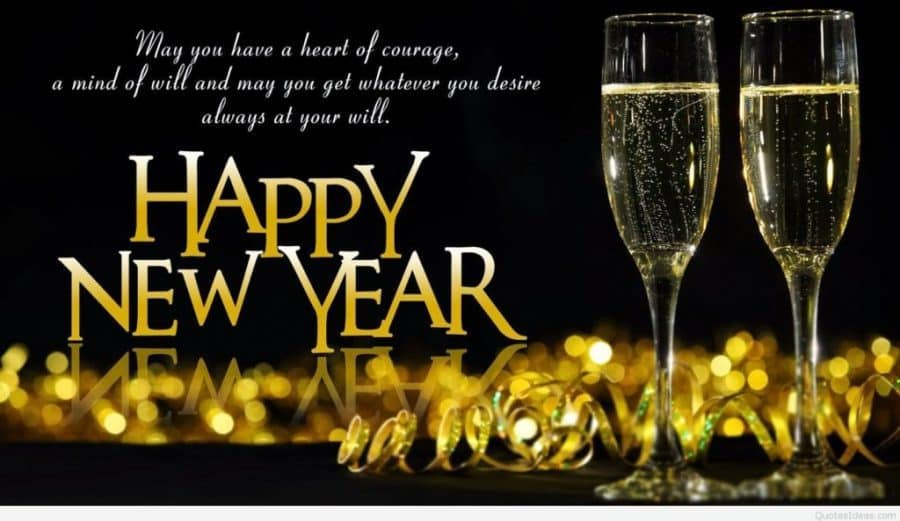Happy New Year - elegant