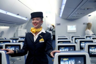 travel vocabulary - flight attendant