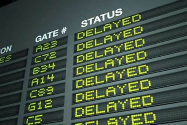 travel vocabulary - delay