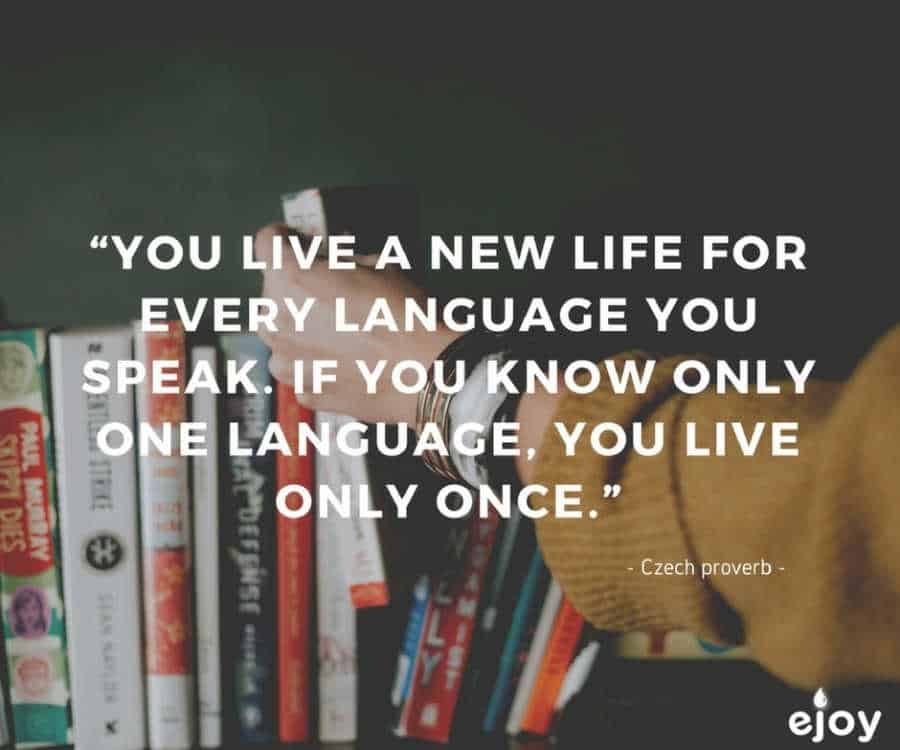 quotes about language learning - ejoy english