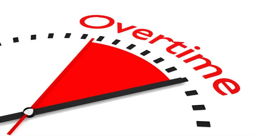 Overtime và Over time