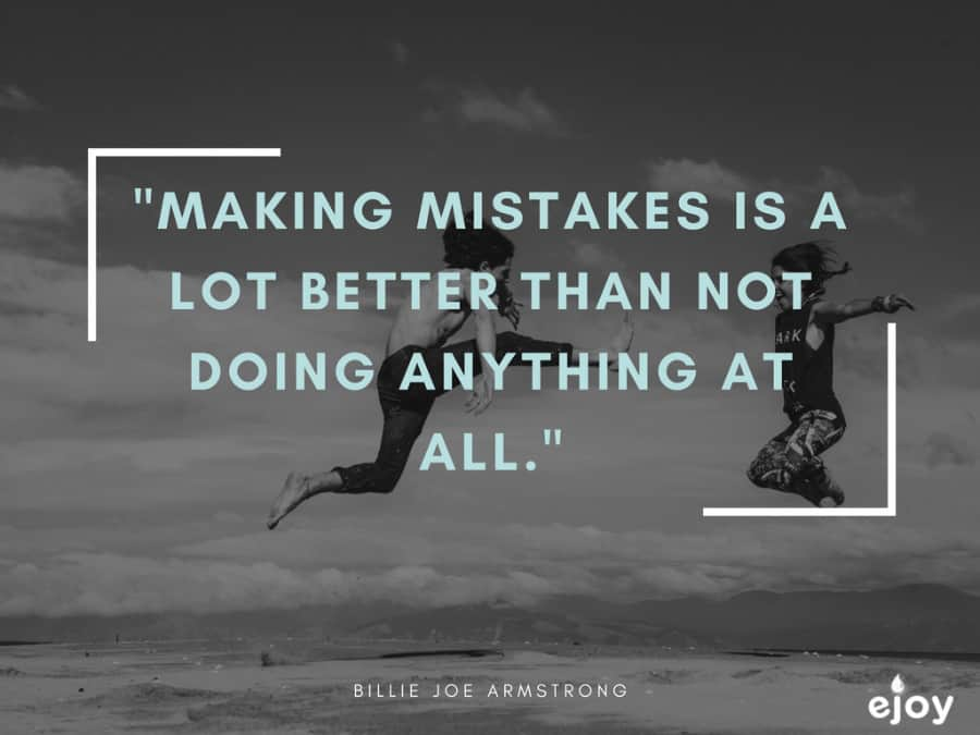 sợ nói tiếng Anh - making mistake is better