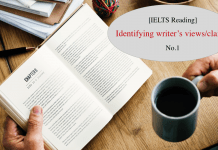 dạng bài đọc IELTS reading Identify writer views