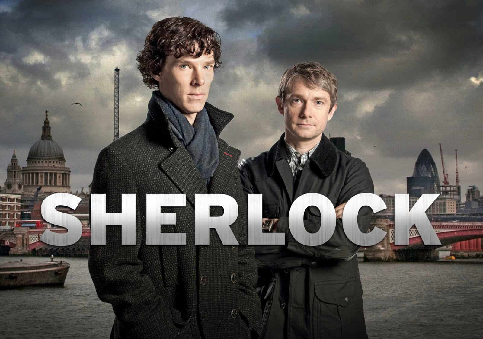 TV shows to learn English - Learn English through Sherlock