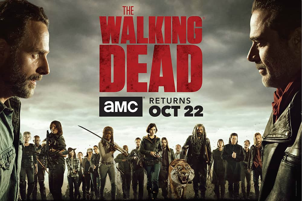 TV shows to learn English - Learn English through The Walking Dead