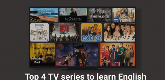 Learn English with TV series