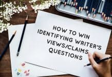 Identifying Writer's Views Questions in IELTS reading