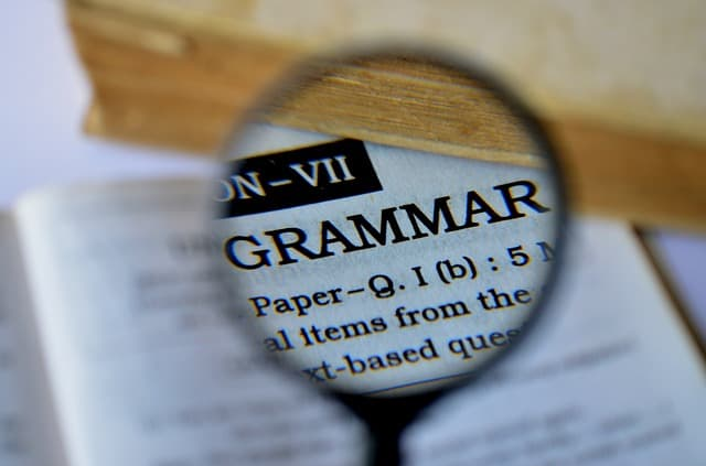 What is 'grammar'?