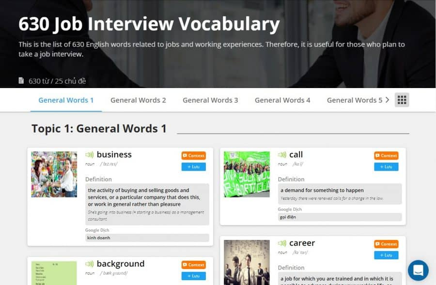 Word-book-for-Job-Interview