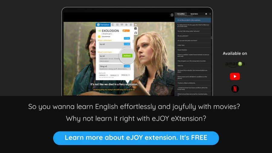 Learn more about eJOY extension