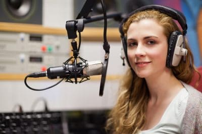 voice over girl