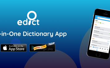 Meet our new eDict – an all-in-one Dictionary