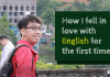 fall in love with English