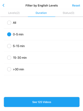choose one length of time