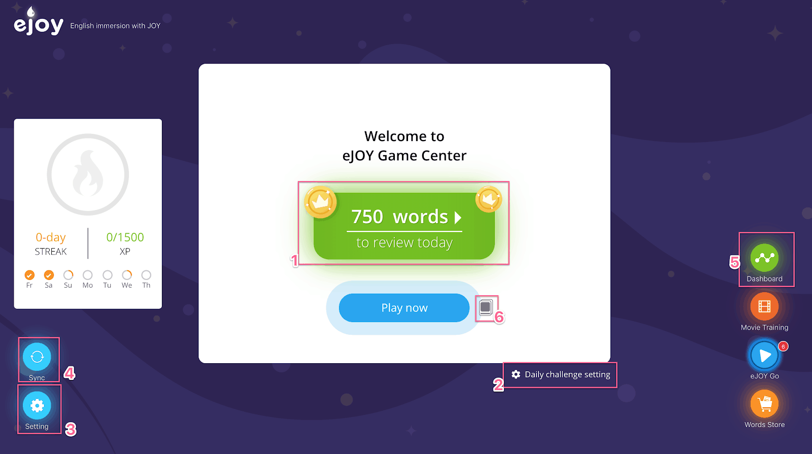 Game Center on eJOY eXtension