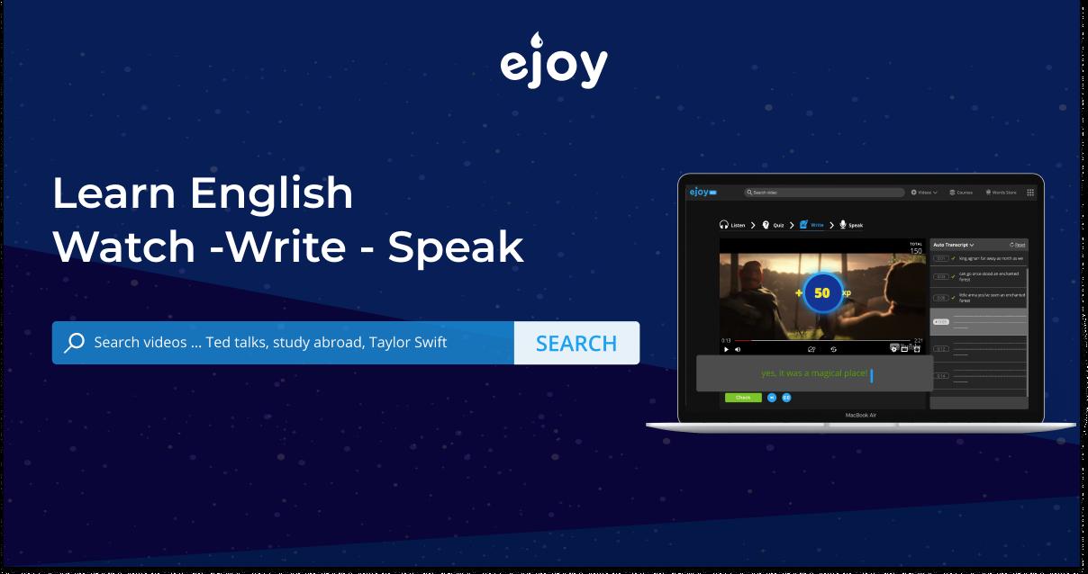 eJOY Go - Website học tiếng Anh qua hơn 60.000 video thực tế